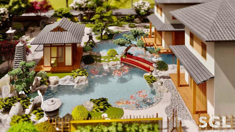 Thiết Kế Sân Vườn Biệt Thự SaiGon Landscape