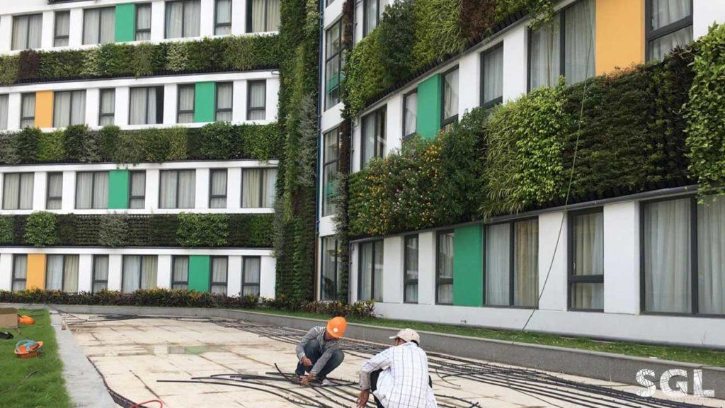 Cảnh Quan Sài Gòn công ty thi công vườn thẳng đứng chuyên nghiệp