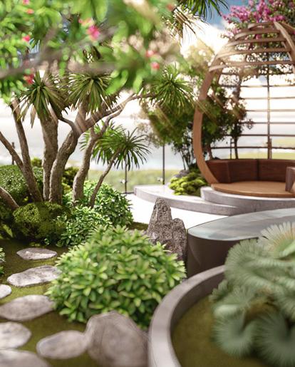 Thiết Kế Sân Vườn Penthouse Gateway Vũng Tàu