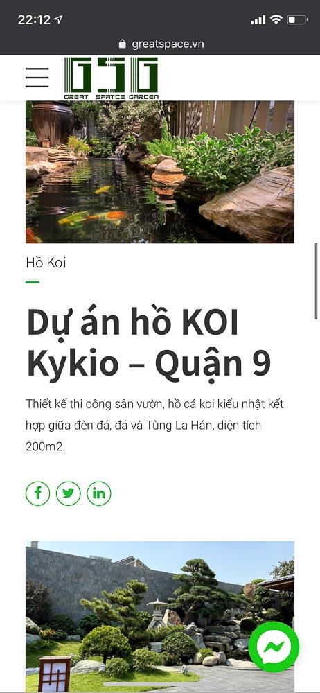 Hồ sơ năng lực Saigon Landscape bị đánh cắp