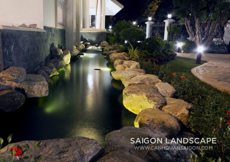 Thiết kế sân vườn biệt thự, 02 Đinh Tiên Hoàng - Đà Lạt