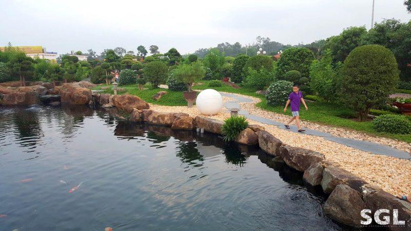 hệ thống lọc nước hồ cá koi