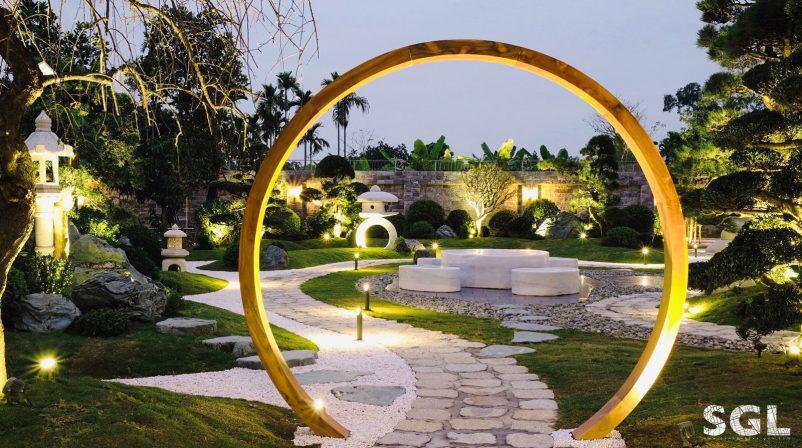 Thiết kế sân vườn Nhật Zen'flowe - Hải Phòng