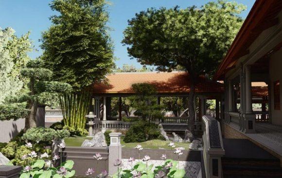 Thiết kế thi công nhà vườn